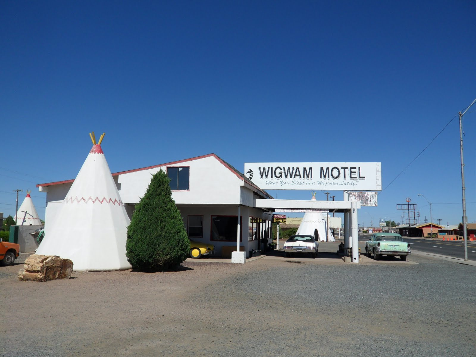 Vanpire Weekend Holbrook Az The Wigwam Motel