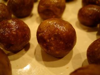 Plated Vegan Peanut Butter Vanilla Balls