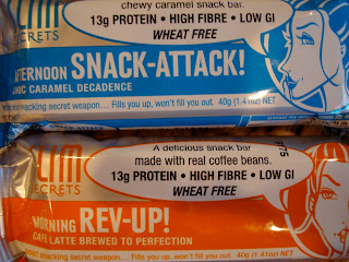 Think Thin Bars in two flavors