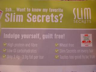 Slim Secret Bar information card