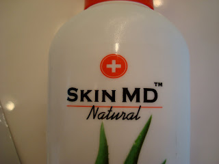 Skin MD Naturals logo on bottle
