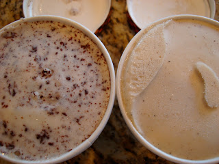 Open Containers of Ice Cream