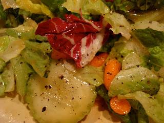 Mixed salad with Maple Ginger Dijon Vinagrette