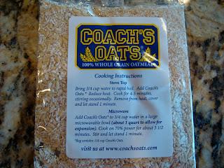 Coach's Oats package