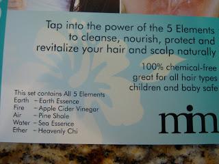 5 Elements card