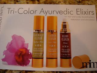 Tri-Color Ayurvedic Elixirs Pamphlet