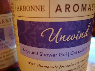 Arbonne Aromassentials bath and shower gel