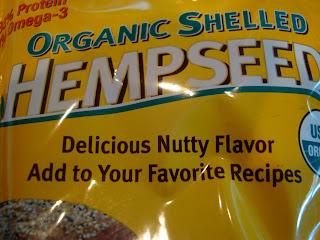 Bag of Organic Shelled Hemp Seed