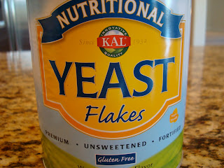 Nutritional Yeast Flakes in container