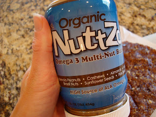 NuttZo Nut Butter container