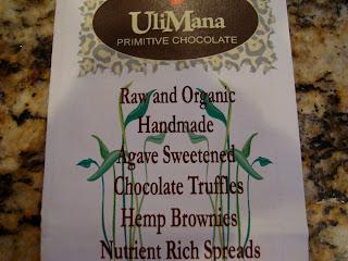 UliMana Chocolate Brochure