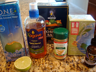 Coconut Water Sports Drink ingredients