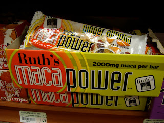 Box of Ruth's Maca Power Bars
