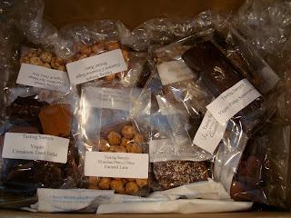 Box of Vegan Goodies & Chocolates from Chocolate Inspirations