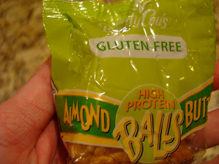 Betty Lou's High Protein Almond Butter Balls in package