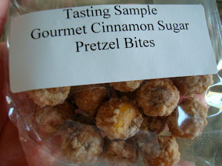Bag of Gourmet Cinnamon Sugar Pretzel Bites