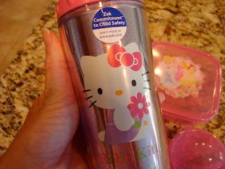 Hello Kitty Travel Tumbler