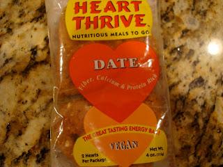Heart Thrive Date Bar