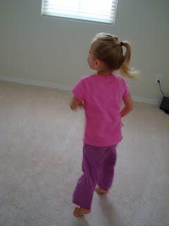 Skylar dancing