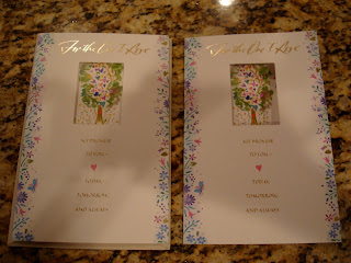 Two of the same anniversary cards
