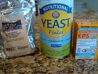 Random ingredients on countertop