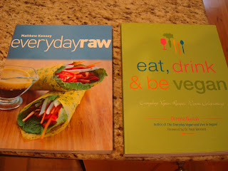 Everyday Raw and Eat, Drink and be Vegan cookbooks