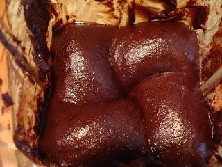 Raw Vegan Chocolate Brownie ingredients being blended in blender