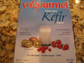 Box off yo'gormet freeze-dried Kefir starter