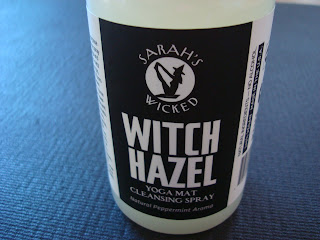 Container of Sarah's Wicked Witch Hazel Yoga Mat Cleaning Spray