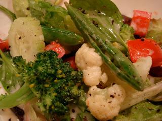 Salad with Vegan Slaw Dressing