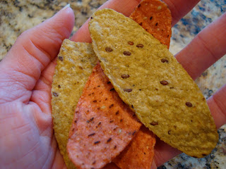 Handful of Tortilla Dippers