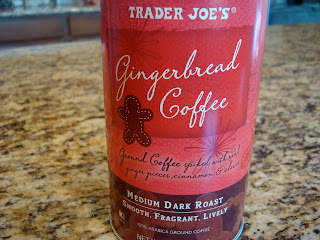 Trader Joe's Gingerbread Coffee Canister