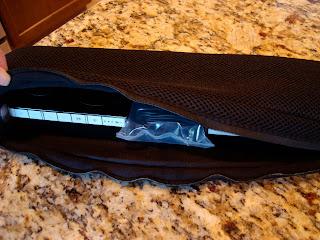 iPod speaker system in bag