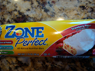 Zone Perfect All-Natural Nutrition Bar in package