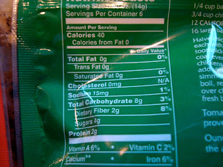 Nutritional Facts on Sun Dried Tomatoes