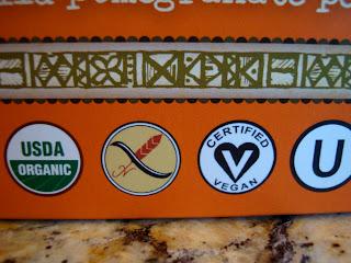 Certified Vegan Symbol on box