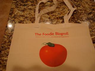The Foodie Blogroll tote bag