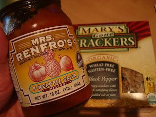 Mrs. Renfro's Pineapple Salsa jar