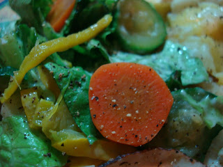 Mixed Green Salad with Vegetables