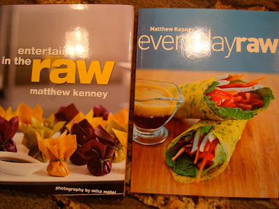 Entertaining in the Raw and Everyday Raw books