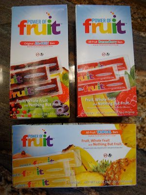 Three boxes of Power Fruit Frozen Bars