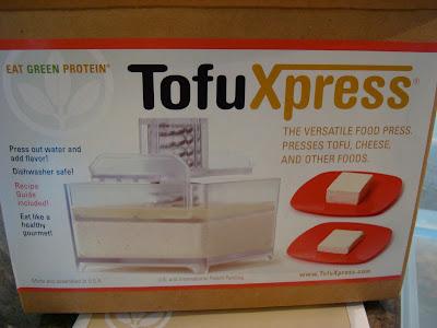Box of TofuXpress Tofu Press