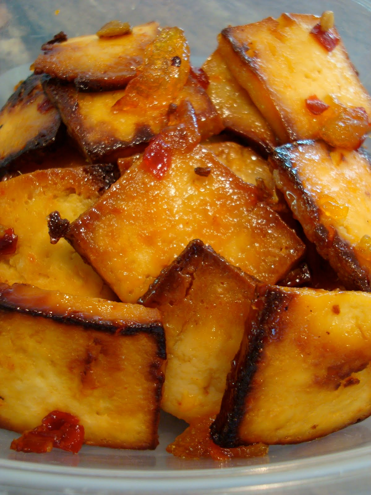 potato ginger sweet tofu with pak sweet gingery tofu sweet ginger ...