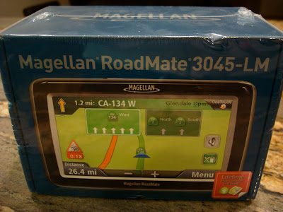 GPS in box