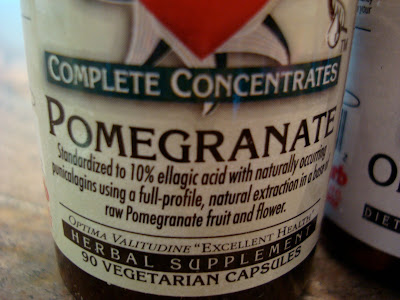 Bottle in Pomegranate Concentrates