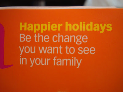 Article of Happier holidays, be the change you want to see in your family