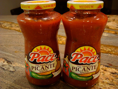 Two jars of Picante Sauce