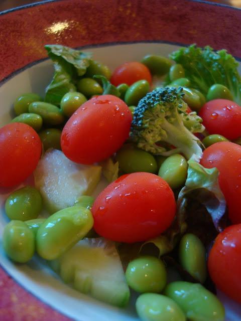 Edamame Salad in bowl