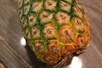 Base of pineapple
