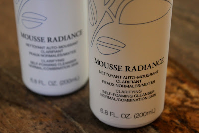 Mousse radiance Clarifying self-foaming cleanser